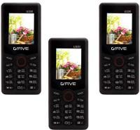 Gfive U330 Combo of Three Mobiles(Black) - Price 1905 20 % Off