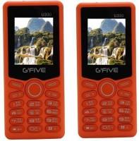 Gfive U330 Combo of Two Mobiles(Orange&Orange) - Price 1299 35 % Off