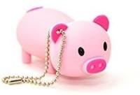 Microware Pinky Cute Piggi Shape 8gb Pendrive 8 GB Pen Drive(Pink)
