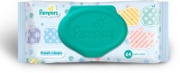 Pampers Fresh Clean Baby Wipes 64 count(64 Pieces)