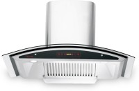 Butterfly TRCYA00024 Auto Clean Wall Mounted Chimney(Silver 1200 m3/h)