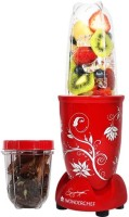 Wonderchef Nutri Blend Red with free recipe book 400 Juicer Mixer Grinder(Red, 2 Jars)
