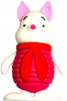 Microware Piigy Girl 8 GB Pendrive 8 GB Pen Drive(Red, White, Pink)
