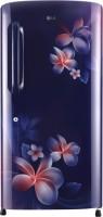 LG 215 L Direct Cool Single Door 4 Star Refrigerator(Blue Plumeria, GL-B221ABPX)   Refrigerator  (LG)