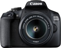 Canon EOS 1500D DSLR Camera Dual kit with EF-S 18-55 IS II + 55-250 IS II lens (16 GB Memory Card & Carry Case )(Black)