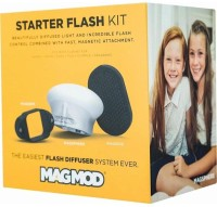 Magmod Starter Flash Kit Flash Modifier System Diffuser(White)