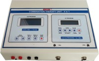 acco COMBO(IFT + TENS+MS+ US(1&3Mhz) Pre Prg . LCD Pain Relief Electrotherapy Device(CM17)