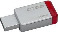 KINGSTON DT50 DataTraveler 50 - 32GB Pendrive - USB 3.1/3.0/2.0 32 GB Pen Drive(Silver)