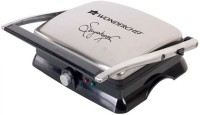 Wonderchef Sanjeev Kapoor Family Size Tandoor Open Grill, Grill(Silver, Black)