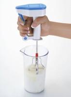 HKC House l Stainless Steel Power Free Hand Blender for Egg & Cream Beater, Milkshake, Lassi, Butter Milk Mixer Maker (Multi-color) 0 W Hand Blender(Blue)