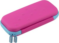 Ofsign Multipurpose Crown Art Canvas Pencil Box(Set of 1, Pink)