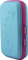 Ofsign Multipurpose Music Art Canvas Pencil Box(Set of 1, Light Blue)