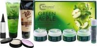 Nutriglow Green Apple Facial Kit (250+10)g with Makeup Kit(Set of 5) - Price 547 77 % Off