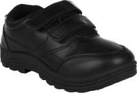 Fashion Gateway Boys & Girls Velcro Formal Boots(Black)