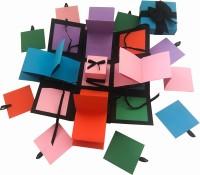 Crack of Dawn Crafts Explosion Box Rubik's Hues Greeting Card Gift Set