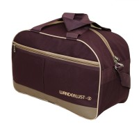 Kuber Industries (Expandable) 20 Ltr Travel Duffle Bag,Luggage Bag,Small Trip Bag Travel Duffel Bag(Brown)