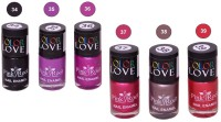 Pink Root NAIL PAINTS NO.34,35,36,37,38,39 Natural(15 ml, Pack of 6) - Price 249 79 % Off