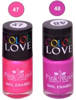 Pink Root NAIL PAINTS NO.47,48 Natural(15 ml, Pack of 2) - Price 145 63 % Off