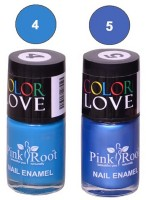 Pink Root NAIL PAINTS NO.4,5 Natural(15 ml, Pack of 2) - Price 145 63 % Off