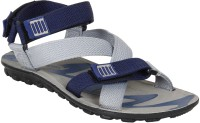 Earton Men Grey Sports Sandals
