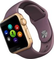 4g gadgets A1 Brown Notifier Health Smartwatch(Purple Strap Reguler)