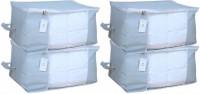 HomeStrap HSHSHSUBSNWFWINGREY4PC-Part Under Bed Storage