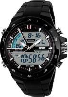Skmei 1016 Black Belt Analog-Digital Watch  - For Men