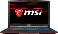 MSI GP Core i7 8th Gen - (16 GB/1 TB HDD/256 GB SSD/Windows 10 Home/6 GB Graphics) GP63 8RE-216IN Gaming Laptop(15.6 inch, Black, 2.2 kg) (MSI) Tamil Nadu Buy Online