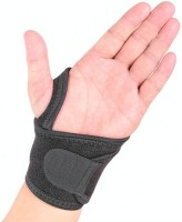 Leosportz Wrist Wrap & Wrist Support With Thumb Guard Wrist Support(Black)