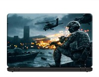 100yellow Battlefield 3 Gaming Laptop Skins/Decal 15.6 Inches for Lenovo- Dell- HP- Acer-Asus PVC Vinyl Laptop Decal 15.6