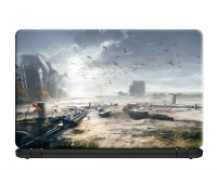 100yellow Battlefield 3 Gaming Laptop Skins 15.6 Inch for Dell- HP- Acer-Asus- Lenovo PVC Vinyl Laptop Decal 15.6