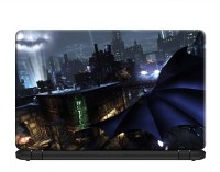 100yellow Batman: Arkham City Gaming Laptop Skins/Decal 15.6 Inch for Lenovo- Dell- HP- Acer-Asus PVC Vinyl Laptop Decal 15.6