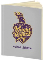 Kolkata Knight Riders A5 Notebook(IPL, Grey)