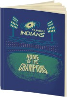 Mumbai Indians A5 Notebook(IPL, Blue)