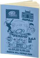 Mumbai Indians A5 Notebook(IPL, Light Blue)