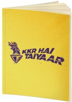 Kolkata Knight Riders A5 Notebook(IPL, Yellow)