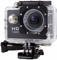 Techlife Solutions With Remote Control 16MP Ultra HD 4K Wifi Extreme Sports Camera with Remote Sports and Action Camera(Black, 16 MP)