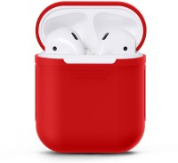 EWOKIt Pouch for Apple Airpods(Red, Flexible Case)