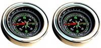 13-HI-13 3025NO Small Compass Set of 2 Compass(Black)