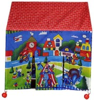 Goyal Traders New Latest Kids Play Tent House with Revolving Wheels(Multicolor)