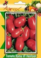 Airex Tomato Roma VF Heirloom (Hybrid) Vegetables Seed (2 Packet Of Tomato Roma VF Heirloom) Seed (Pack of AVG 40-50 Seed * 2 Per Packet) Seed(100 per packet)