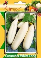 Airex Cucumber White Long (Hybrid) Vegetables Seed (Pack Of 15 Seed Per Packet) Seed(15 per packet)