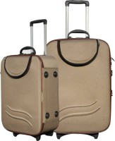 CIFFRA SUPER LIGHT BROWN 24-20 Expandable Check-in Luggage - 24 inch(Beige)