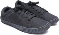 Leon Boys Lace Sneakers(Black)