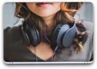 Flipkart SmartBuy Music Headphone 3 Vinyl Laptop Skin (3M/Avery Vinyl, Matte Laminated, 15 x 10 inches) Vinyl Laptop Decal 15.1