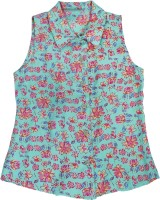 Eves Pret A Porter Girl's Floral Print Casual Shirt