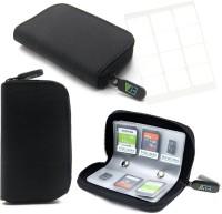 ELV Portable Card Holder 4 For SD Card(For SD Cards, Soft Black)
