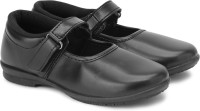 Prefect by Liberty Girls Velcro Monk Strap Shoes(Black)