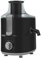 Maharaja Whiteline MONTERO 550 Juicer Mixer Grinder(Black, Silver, 3 Jars)