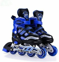 Dhawani Skating Shoe have different size and with PU LED wheel In-line Skates - Size 38 - 41 UK In-line Skates - Size 6-9 UK(Blue)
